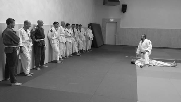 Grim Vuijsters bij Judo Academy Netherlands